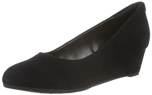 Clarks Vendra Bloom, Women's Wedge Heels Sandals, Black (Black SDE), 3