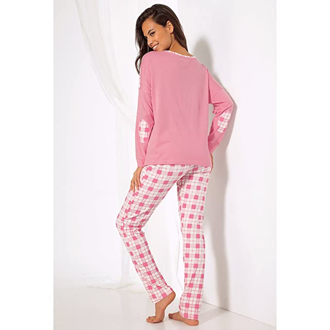 VENCA Pijama Camiseta de Escote Redondeado con Tapeta de Botones by Vencastyle: Amazon.es: Ropa y accesorios