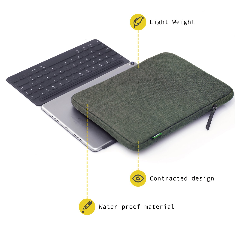 10.6 Samsung Galaxy Book 10.5 Samsung Galaxy Tab S4 Tablet con Keyboard 10.5 Pad Pro con Smart Keyboard CAISON 10 Pulgadas Funda Blanda para 10 Microsoft Surface Go