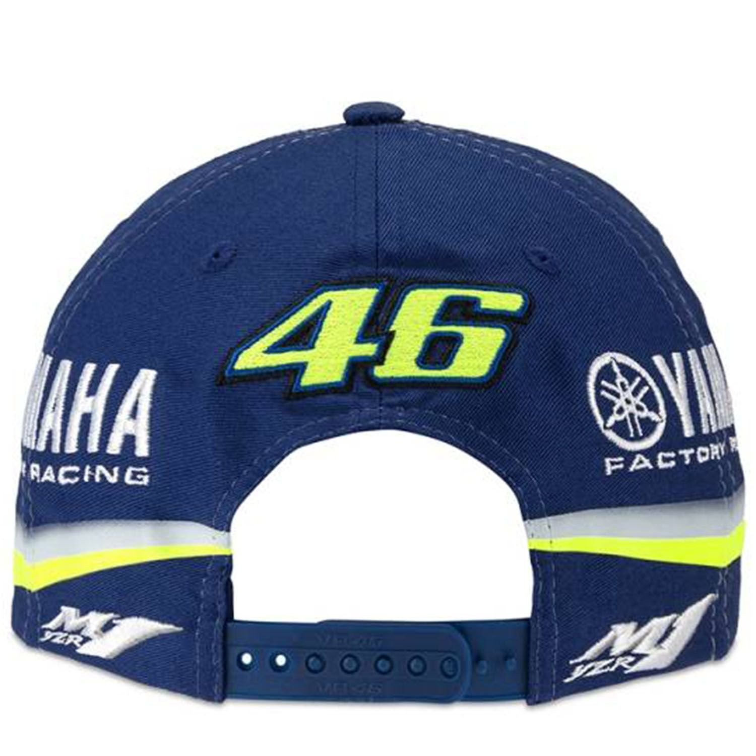 VALENTINO ROSSI /® Casquette VR46 Moto GP M1 Yamaha Factory Racing Team Ydmca313609 Officiel 2018 Licence Yamaha Distributeur