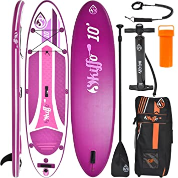 "Tabla ISUP Paddel Surf Hinchable ELLAS XX 10"" ,STAND UP + Pala + Mochila"