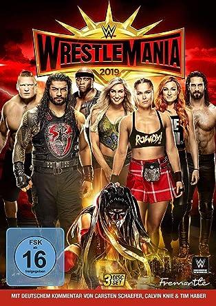 Wwe: Wrestlemania 35 [Alemania] [DVD]: Amazon.es: Wwe: Cine y Series TV