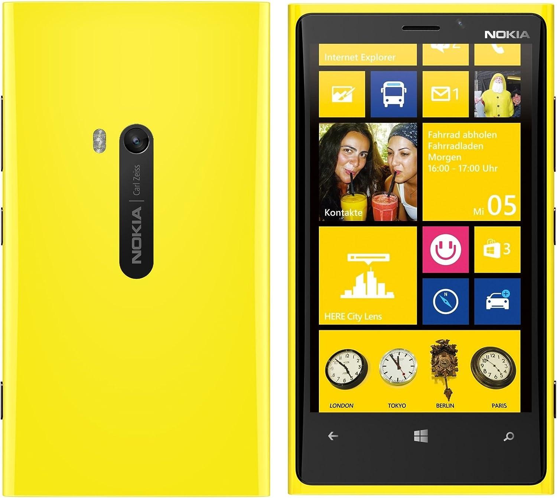 Nokia Lumia 920 Yellow Amarillo Windows Phone 32 GB Smartphone ...