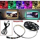 Your Supermart Waterproof 5V USB Manual Control Led TV Backlighting Strip Light 1M