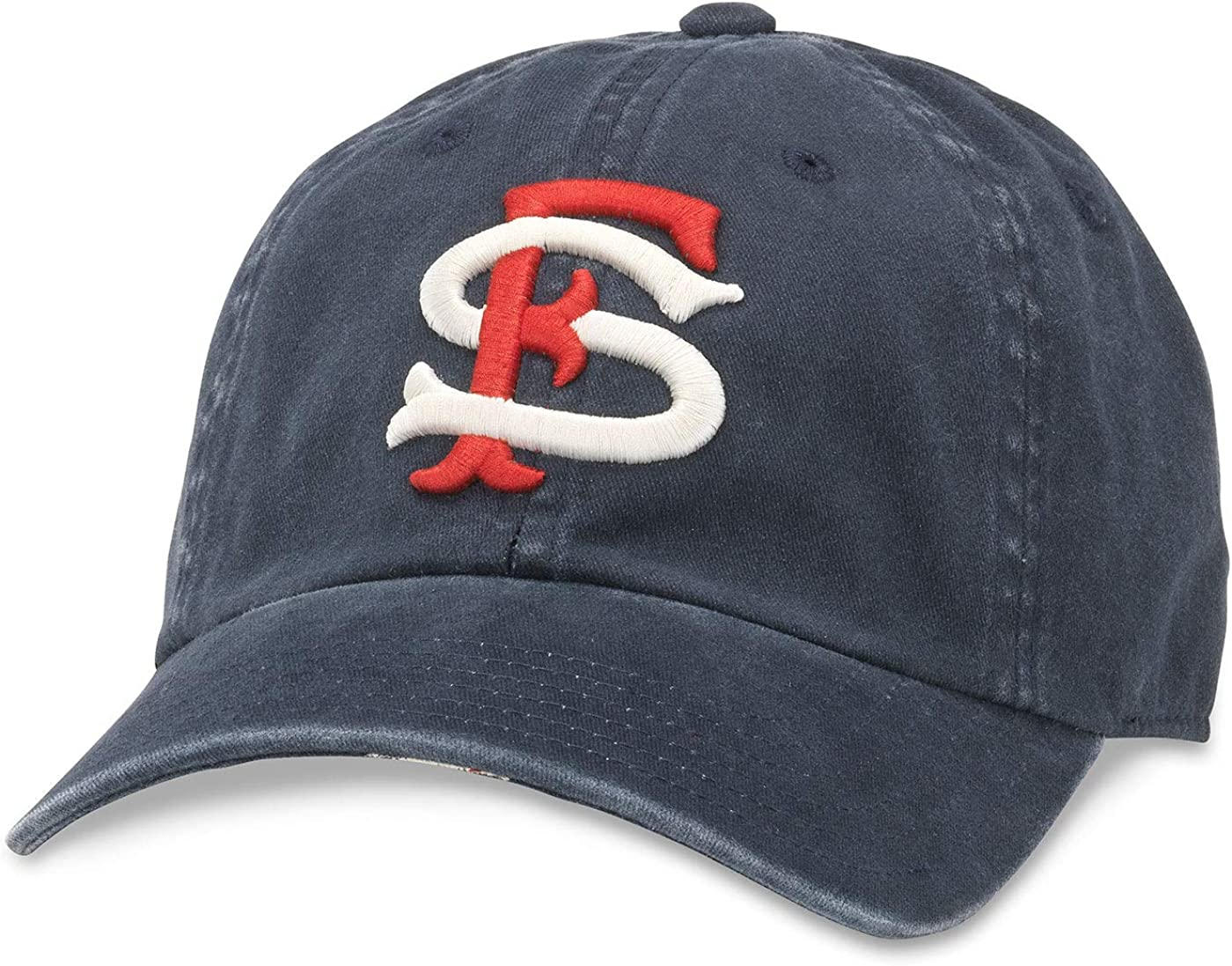 American Needle Minor League Baseball New Raglin Washed Slouch Adjustable Hat