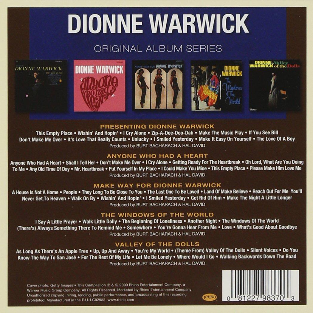 Original album series dionne warwick amazon msica solutioingenieria Image collections