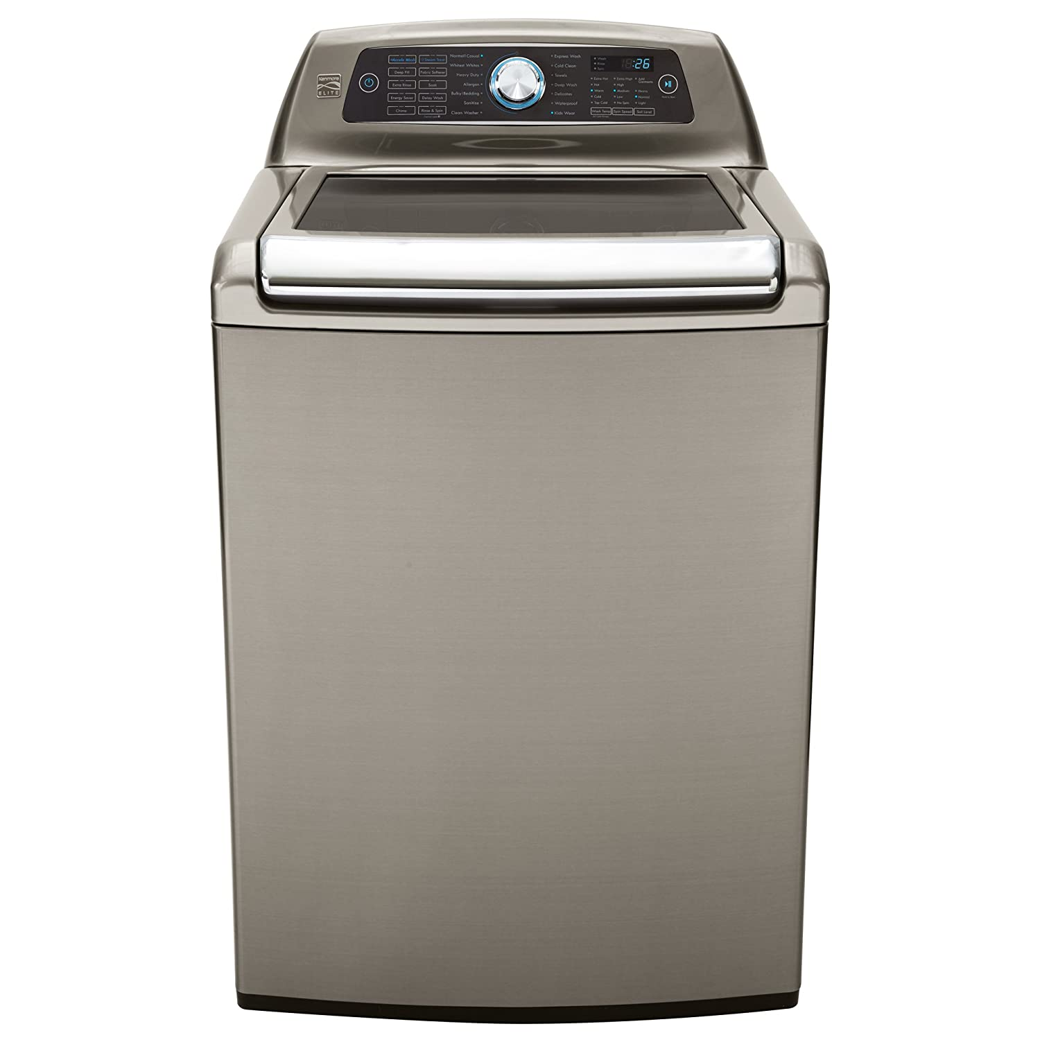 Kenmore Elite 31553 5.2 Cu. Ft. Top Load Washer In Silver, Includes Delivery And Hookup