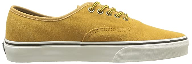 Vans U Authentic (hiker) Suede/t Vu1w9w5, Unisex-Erwachsene Sneaker, Gelb (gelb/khaki), Eu 39 (us 7)