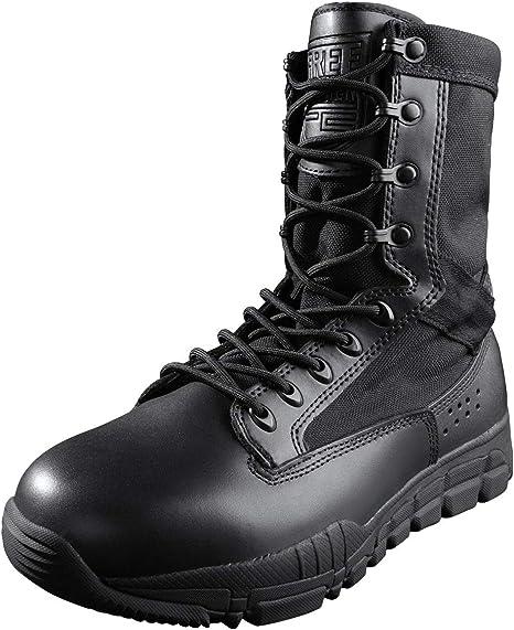 Men's Tactical Stivali Militare All'aperto a metà caviglia