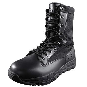 FREE SOLDIER Botas de Combate para Hombre Zapatillas con Cordones Militares de 8