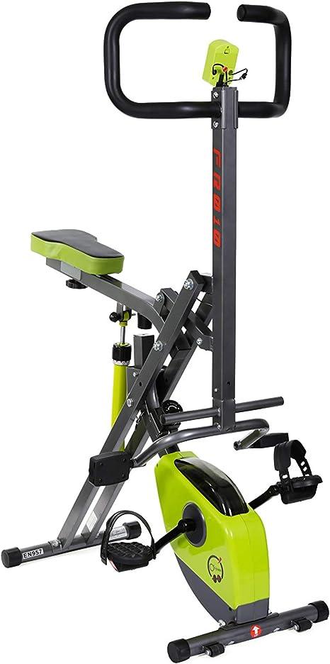OFitness Xbike Rider - Bicicleta 2 en 1, contador de 5 fondos, cilindro de 8 posiciones: Amazon.es: Deportes y aire libre
