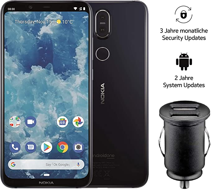 Nokia 8.1 Dual SIM: Amazon.es: Electrónica