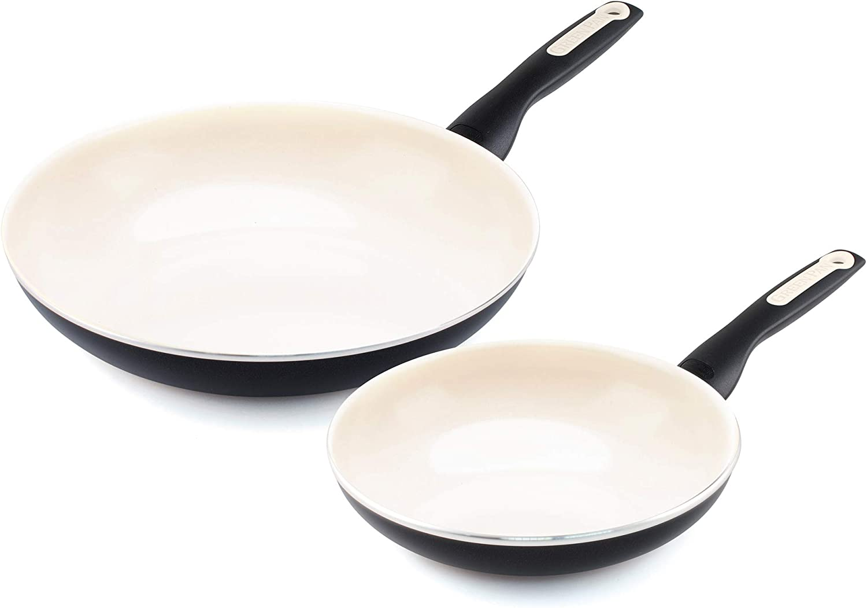 GreenPan Rio Healthy Ceramic Nonstick, Frypan Set, 8