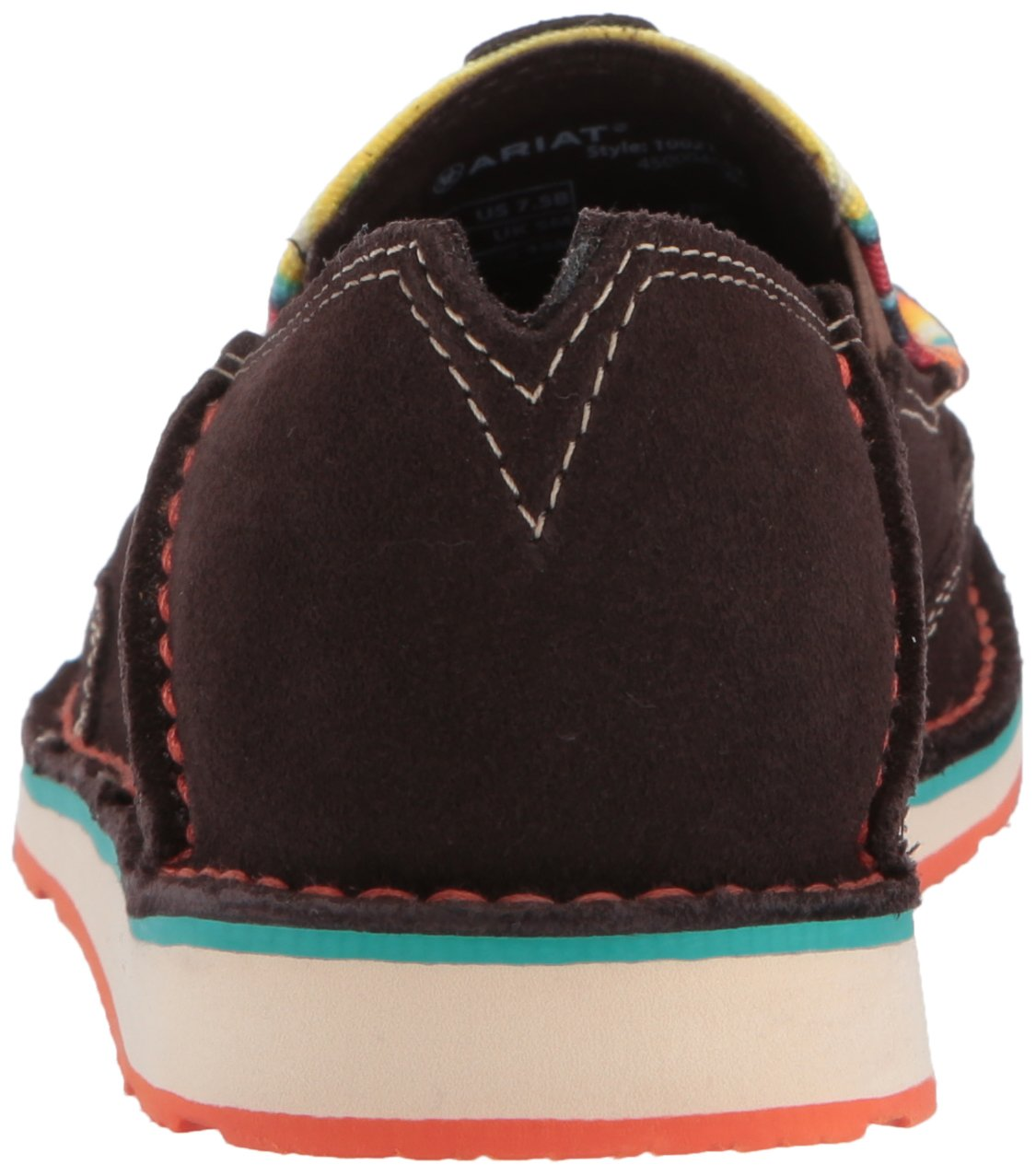 Ariat Women's 9 Cruiser Slip-on Shoe B01MSCWO6L 9 Women's B(M) US|Chocolate Fudge 8beb46