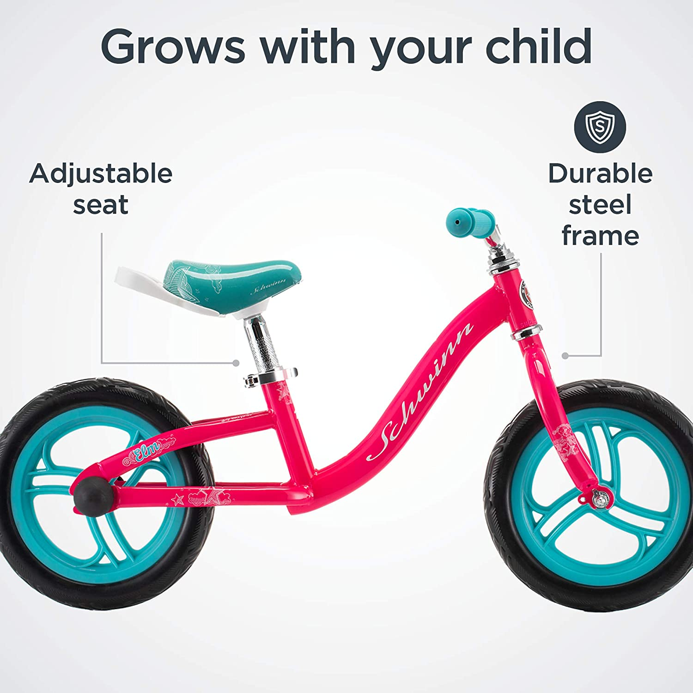 Schwinn Elm Girls Bike Renewed Featuring SmartStart Frame to Fit Your Childs Proportions