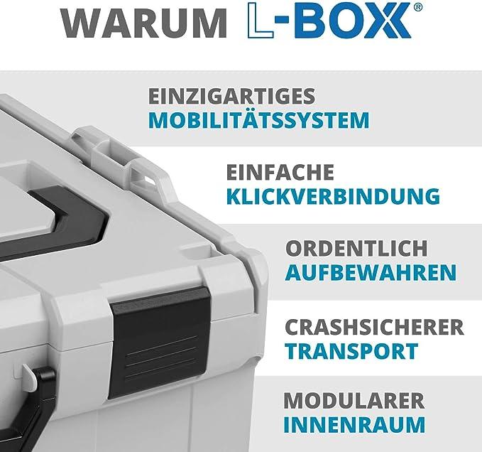 Sortimo L-BOXX 121017995 Couvercle plan de travail