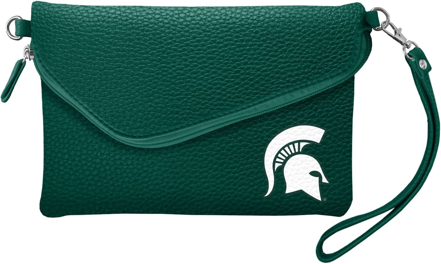 Littlearth NCAA Fold Over Crossbody Pebble Purse