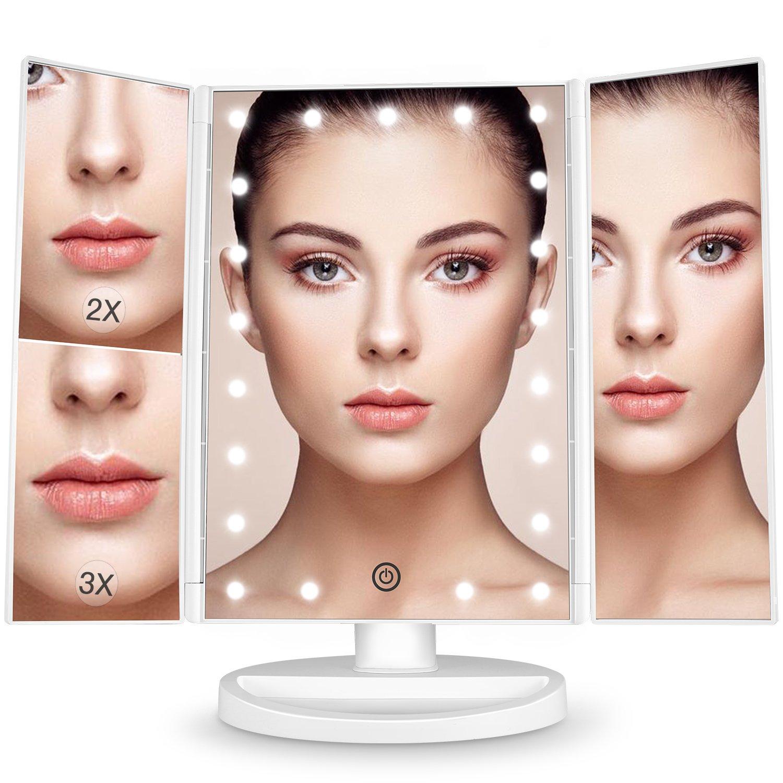 BESTOPE Makeup Vanity Mirror with 21 LED Lights