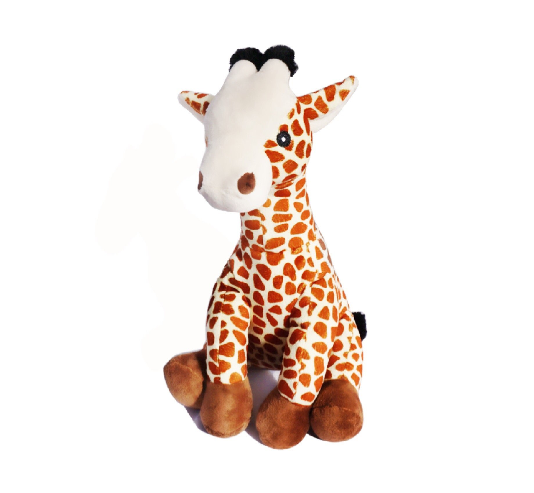 Gilbert the Farting Giraffe Plush Dog Toy with Sound Insert