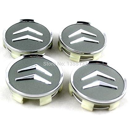 DjMobile 4 Tapas de buje de 60mm para Llantas de Aluminio ...