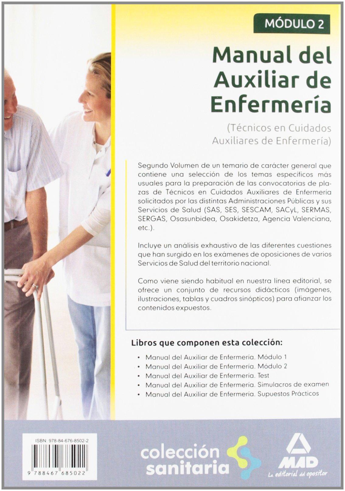 Manual Del Auxiliar De Enfermería Módulo Ii Spanish
