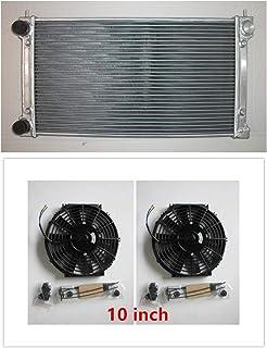 MONROE RACING U0115 Aluminum Radiator and two 10