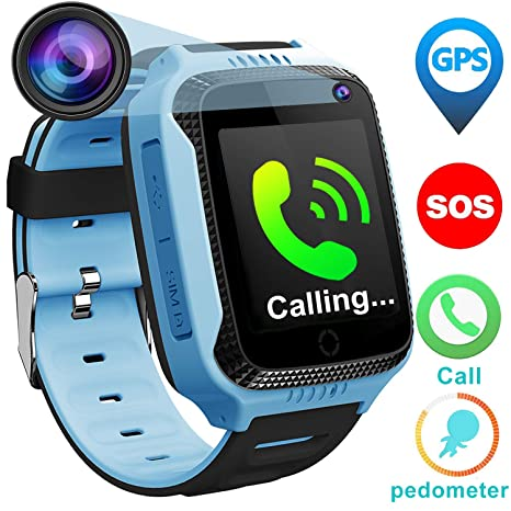 Kids Phone Smart Watch For 3 12 Year Old Boys Girls With GPS Tracker Locator