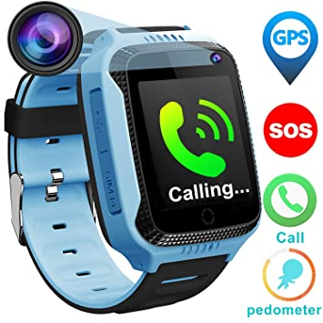 Kids Phone Smart Watch For 3 12 Year Old Boys Girls With GPS Tracker