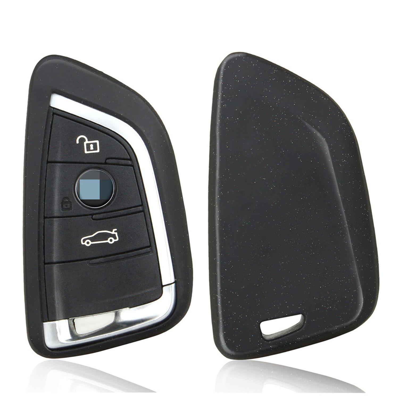 M JVisun Soft Silicone Rubber Carbon Fiber Texture Cover Protector