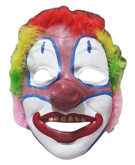Petitebelle Halloween suave payaso máscara de para fiesta de disfraces para niños: Amazon.es: Ropa y accesorios