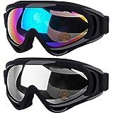 Anni Coco Ski Goggles, Snowboard Goggles for Men Women & Youth, Kids, Boys & Girls, Snow Goggle Winter Skiing Sport Goggles A