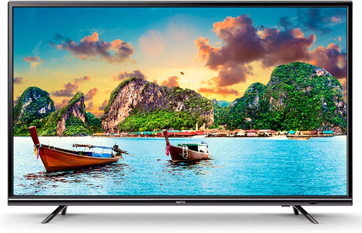 METZ 55U2X41C TELEVISOR 55 LCD LED UHD 4K HDR 200Hz Smart TV Netflix WiFi LAN HDMI Y USB Reproductor Multimedia: Amazon.es: Electrónica