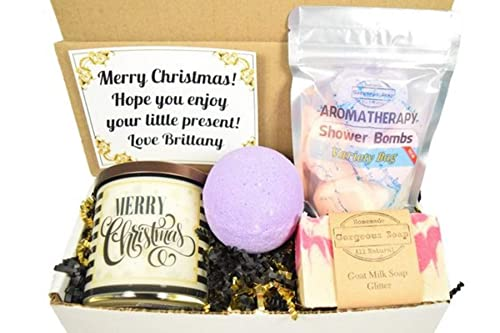 Christmas Gift Exchange Ideas.Amazon Com Custom Christmas Gift Box Christmas Gift Ideas