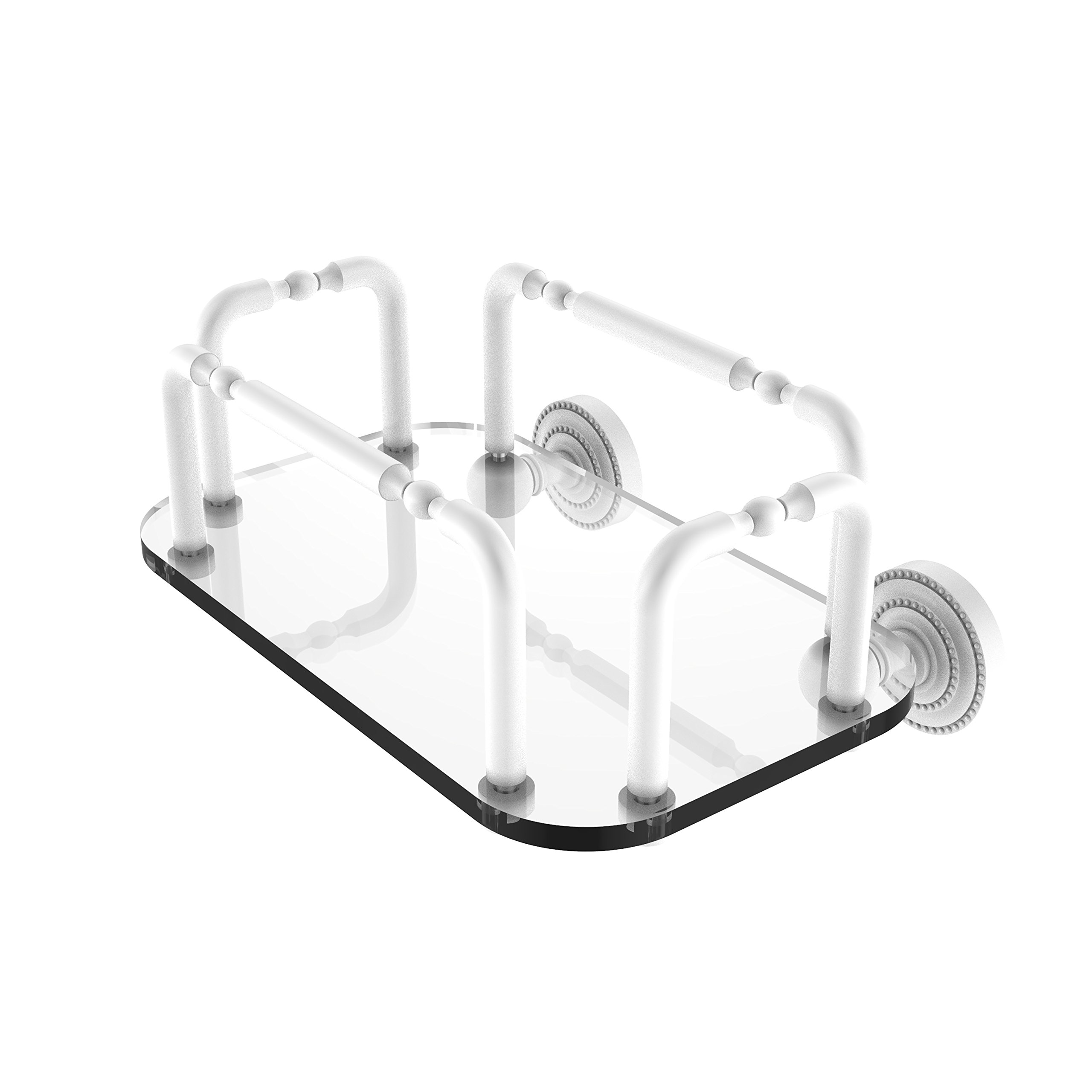Allied Brass GT-2-DT-WHM Dottingham Wall Mounted Guest Towel Holder by Allied Brass (Image #1)