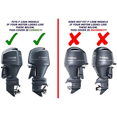 Yamaha OEM A-Model F150 Outboard Motor Cover (2013 and older) MAR-MTRCV-1C-15: Automotive