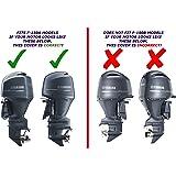 YAMAHA OEM Basic Outboard Motor Cover 150 200 L150 L200 2-Stroke MAR-MTRCV-ER-70