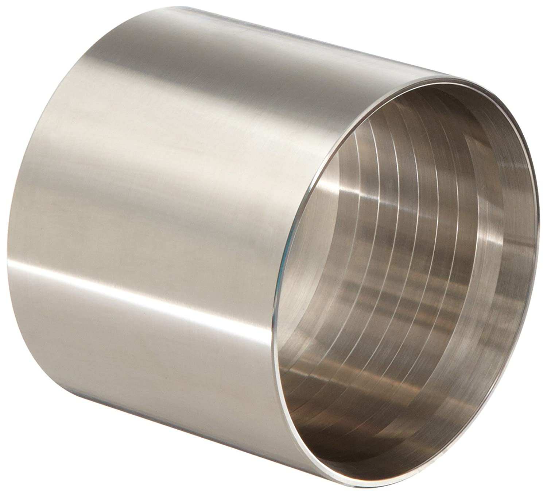 2-42//64 to 2-45//64 Hose OD Dixon F32G-2719 Stainless Steel 304 Holedall Fitting 2 Hose ID 2-42//64 to 2-45//64 Hose OD 2 Hose ID Dixon Valve /& Coupling Sanitary Crimp Ferrule