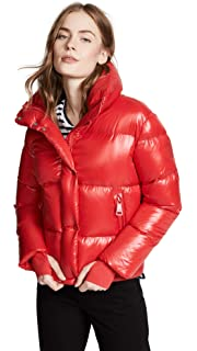 db628927a Amazon.com: SAM. Women's Camo Freestyle Short Down Jacket, Olive ...