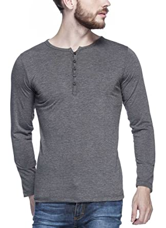 6c48730a Tinted Men's Solid Slim fit T-Shirt (TJ103RF-ANTHERA-M_Anthera_Medium)