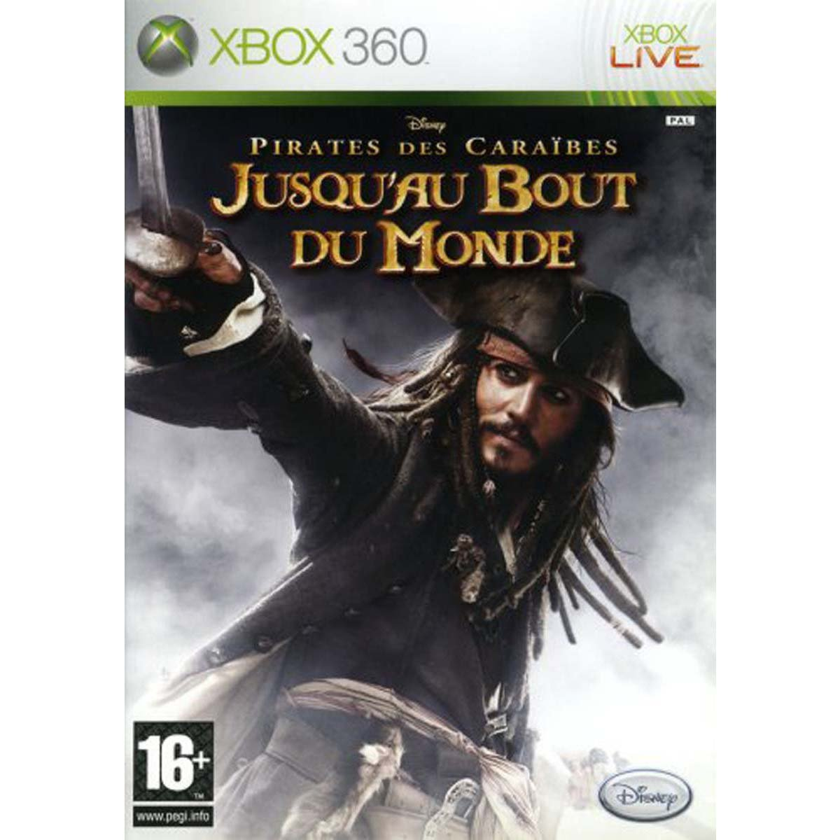 The Pirates Of The Caribbean: At Worlds End (Xbox 360) B000NJLQ7E
