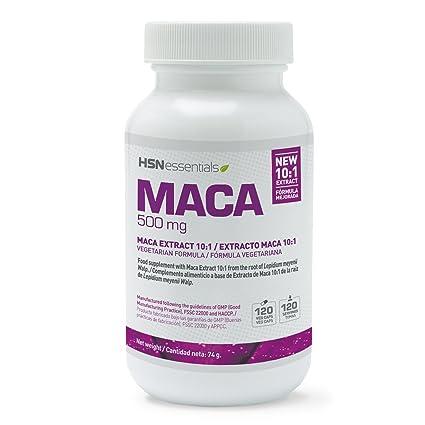 Maca Andina de HSN Essentials Dosis Diaria 500mg Ratio 10:1 - Eleva tus niveles