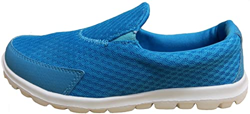 RTB Baskets Chaussures de sport Marche Go Get Fit pour femme par Bleu -  aqua d84a089064a