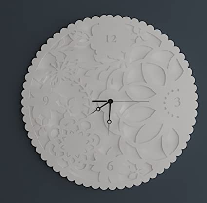 Designer Corian Wall clockC