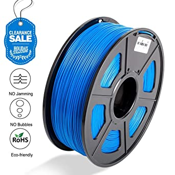 Colorfish - Filamento PLA para impresora 3D, 1,75 mm, color azul ...