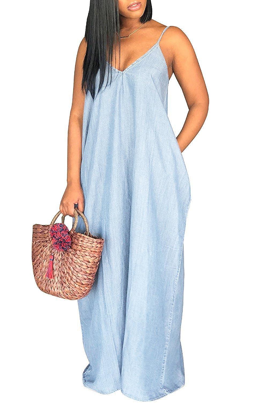 5460b1e3bb Top 10 wholesale Spring Denim Dresses - Chinabrands.com