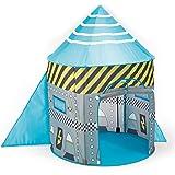 Enfants Pop Up vaisseau spatiale / engin spatial habité - tente pop up bleu. Garçons Jouet Tente