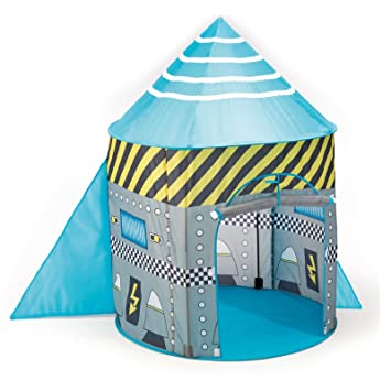 Childrens Rocket / Spaceship Pop Up Tent (With Poles) - Boys Toy Play Tent  sc 1 st  Amazon UK & Childrens Rocket / Spaceship Pop Up Tent (With Poles) - Boys Toy ...