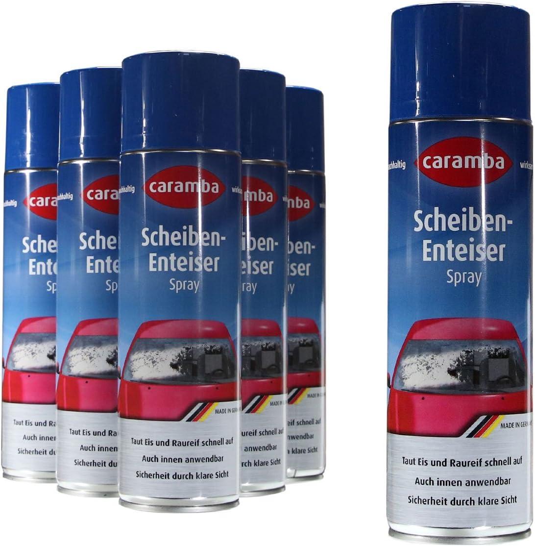 6x Caramba Scheiben Enteiser Scheibenenteiser Spray Sprühdose 500ml 5 78euro L Auto