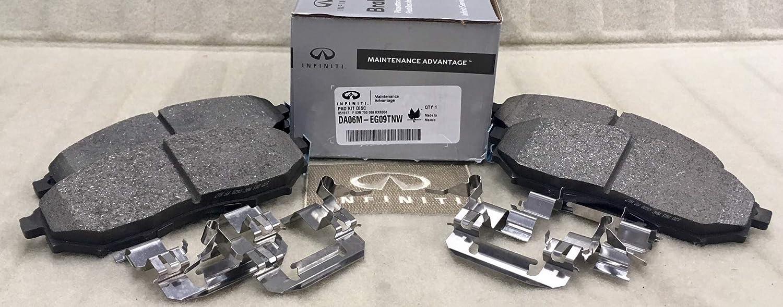 Front Disc Brake Pad Set Genuine for Infiniti EX37 M35 M45 Nissan Pathfinder