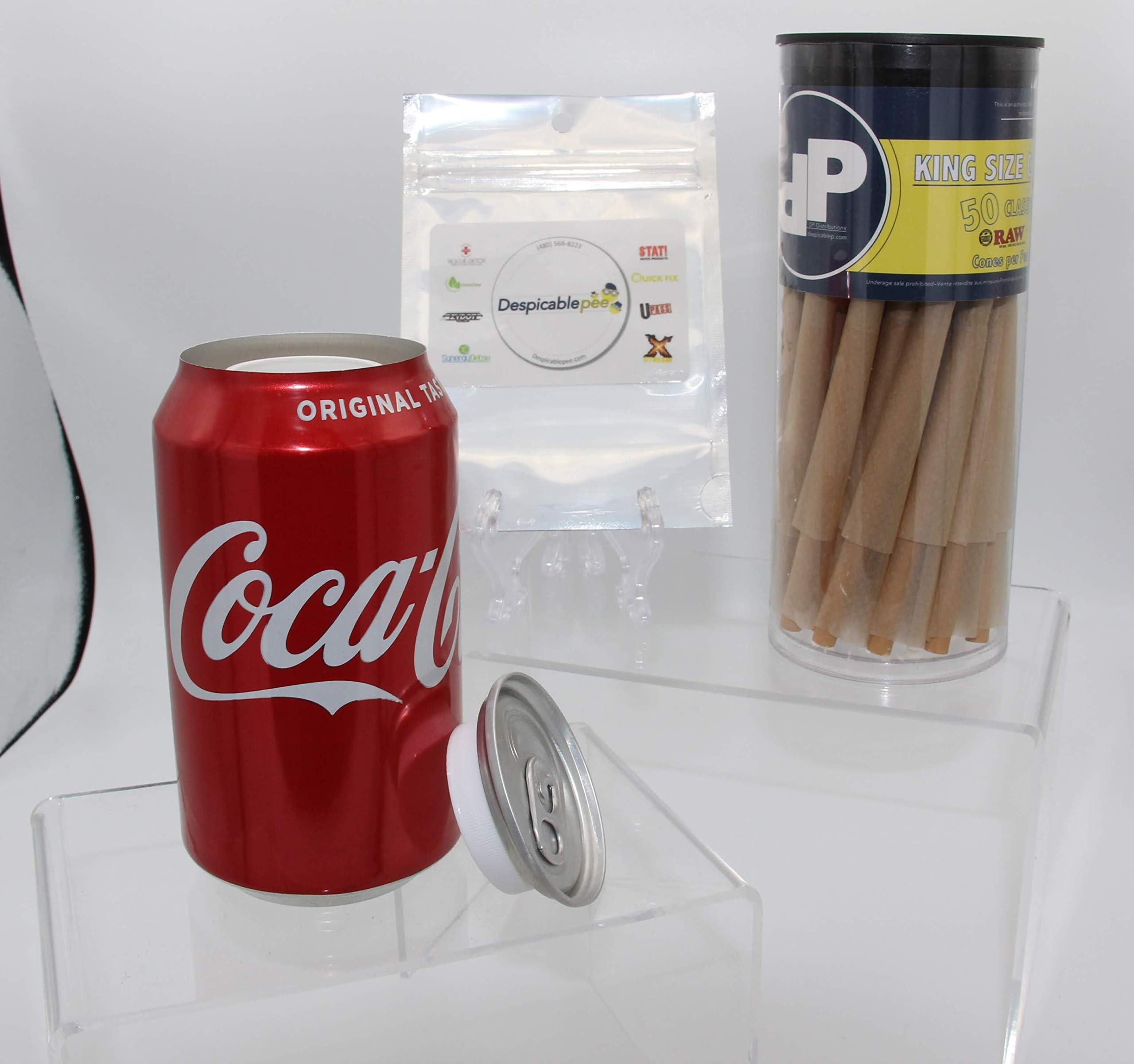 Coca-Cola Can Diversion Safe, 50ct DP Toob & Sac by DP Distributions